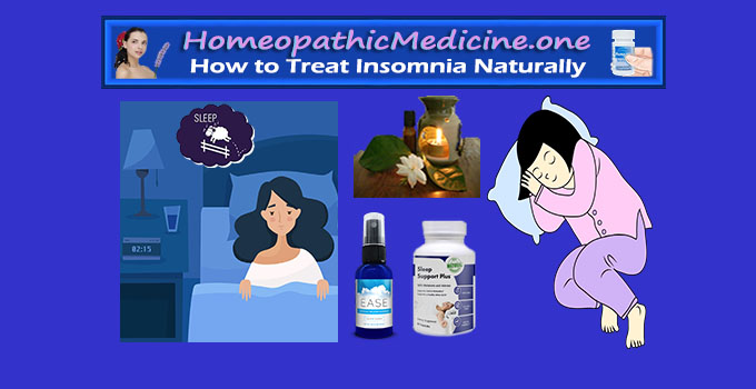 how to treat insomnia natuarlly