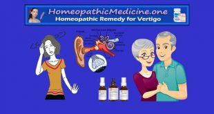 Homeopathic remedies for vertigo