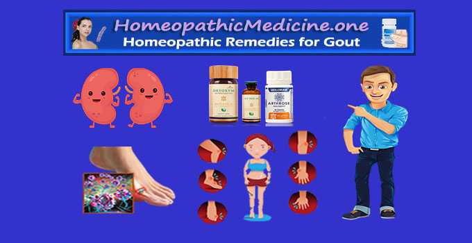 homeopathic remedy for gout