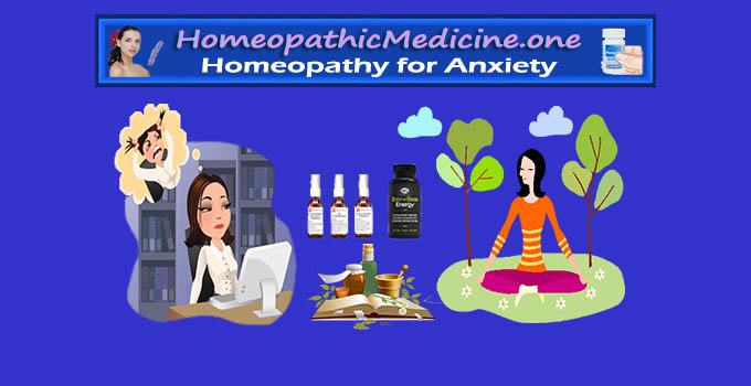 homeopathic medicine for anxiety